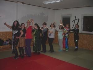Fasching Gruppe Pilates